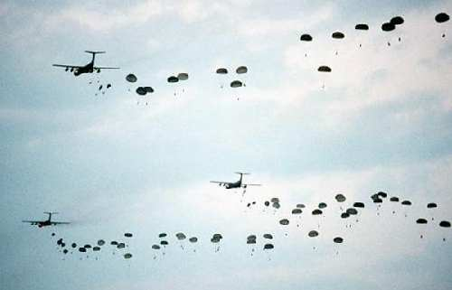 Image result for c-141 airdrop